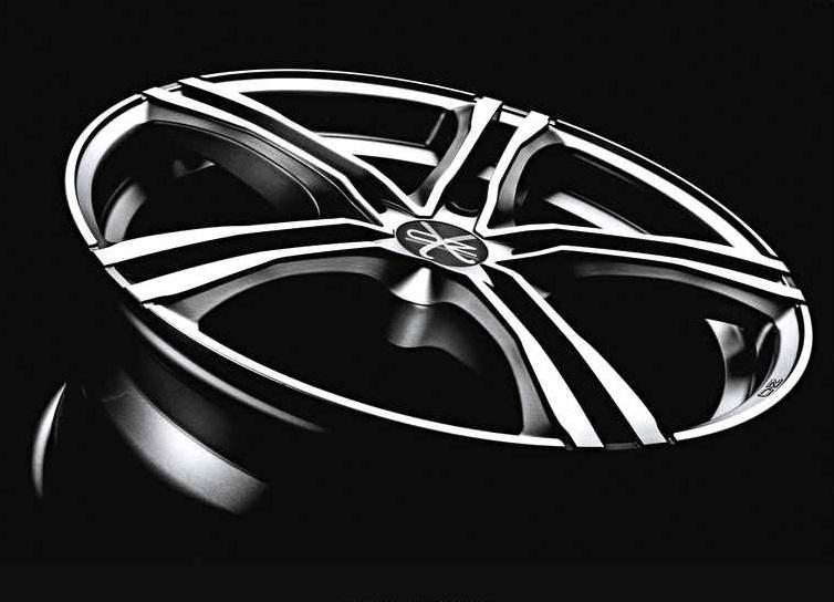 oz racing x5b xline cerchio in lega diametro 18 matt. Black Bedroom Furniture Sets. Home Design Ideas